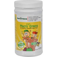 HGR1064542 - MacroLife NaturalsJr. Macro Coco-Greens for Kids Chocolate - 3.3 oz