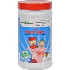 HGR1064591 - MacroLife NaturalsJr. Macro Reds for Kids Berri - 3.3 oz