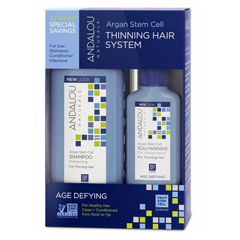HGR1064906 - Andalou NaturalsThinning Hair System with Argan Fruit Stem Cells - 3 Pieces