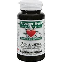 HGR1072297 - Kroeger HerbSchizandra - 90 Vegetarian Capsules