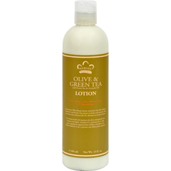 HGR1074434 - Nubian HeritageLotion - Olive Butter with Green Tea - 13 fl oz