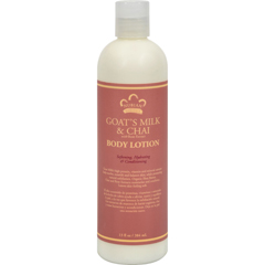 HGR1074525 - Nubian HeritageLotion - Goats Milk and Chai - 13 fl oz