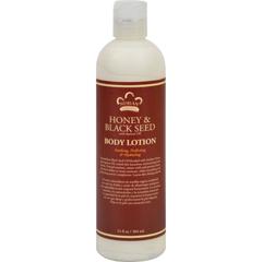 HGR1074533 - Nubian HeritageLotion - Honey and Black Seed - 13 oz