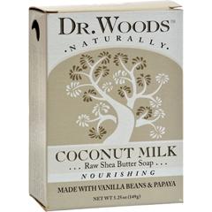 HGR1077791 - Dr. WoodsBar Soap Coconut Milk - 5.25 oz