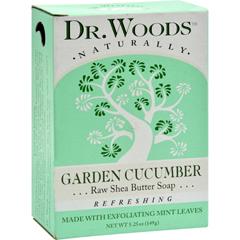 HGR1077825 - Dr. WoodsBar Soap Garden Cucumber - 5.25 oz