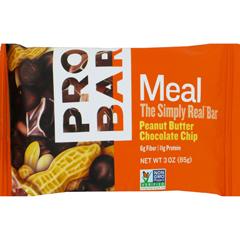 HGR1081512 - ProbarOrganic Peanut Butter Chocolate Chip Bar - Case of 12 - 3 oz