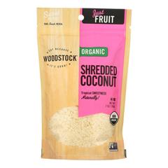 HGR1081728 - Woodstock - Organic Shredded Coconut - Case of 8 - 4 oz..