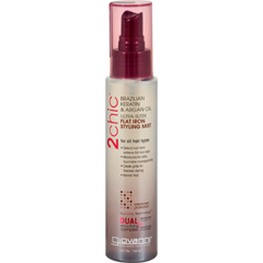 HGR1084540 - Giovanni Hair Care ProductsGiovanni 2chic Flat Iron Styling Mist with Brazilian Keratin and Argan Oil - 4 fl oz