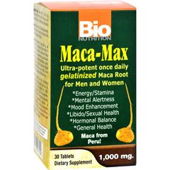 HGR1086115 - Bio NutritionMaca-Max - 1000 mg - 30 Tablets