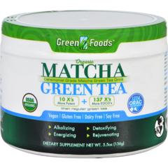 HGR1089929 - Green Foods - Organic Matcha Green Tea - 5.5 oz