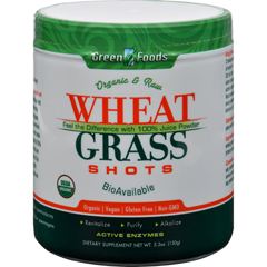 HGR1090109 - Green FoodsOrganic and Raw Wheat Grass Shots - 5.3 oz
