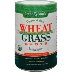 HGR1090117 - Green FoodsOrganic and Raw Wheat Grass Shots - 10.6 oz