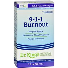 HGR1090638 - King Bio Homeopathic911 Burnout - 2 fl oz