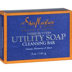 HGR1090802 - Shea MoistureMens Utility Soap - 5 oz