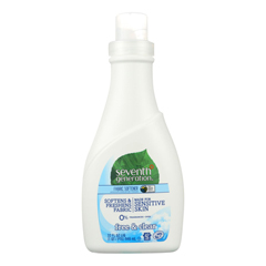 HGR1092261 - Seventh Generation - Natural Liquid Fabric Softener - Free and Clear - Case of 6 - 32 Fl oz..