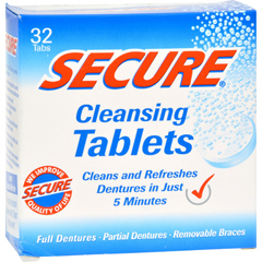 HGR1094911 - SECUREDenture Cleanser - 32 Tablets
