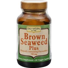 HGR1096973 - Only NaturalBrown Seaweed Plus - 700 mg - 60 Vegetarian Capsules