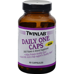 HGR1097740 - TwinlabDaily One Caps without Iron - 60 Capsules