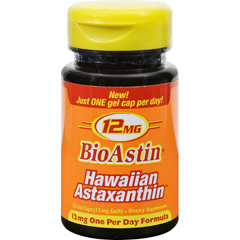 HGR1097823 - Nutrex HawaiiBioAstin Hawaiian Astaxanthin - 12 mg - 25 Gel Caps
