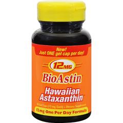 HGR1097831 - Nutrex HawaiiBioastin Hawaiian Astaxanthin - 12 mg - 50 Gel Caps