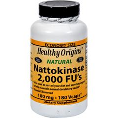 HGR1099571 - Healthy OriginsNattokinase 2000 FUs - 100 mg - 180 Vcaps