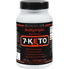 HGR1099597 - Healthy Origins7-Keto DHEA Metabolite - 100 mg - 120 Vegetarian Capsules