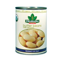 HGR1099829 - Bioitalia - Organic Beans - Butter Beans - Case of 12 - 14 oz..