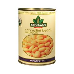 HGR1099837 - Bioitalia - Beans - Cannellini Beans - Case of 12 - 14 oz..