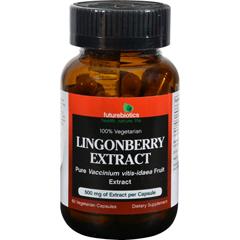 HGR1103605 - FutureBioticsLingonberry Extract - 500 mg - 60 Vegetarian Capsules