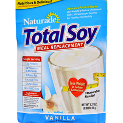 HGR1106970 - NaturadeTotal Soy Vanilla Packet - Case of 25 - 1.27 oz