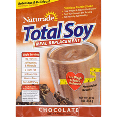 HGR1106988 - NaturadeTotal Soy Chocolate Packet - Case of 25 - 1.27 oz