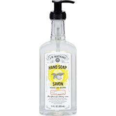 HGR1108364 - J.R. WatkinsNatural Home Care Hand Soap - Lemon - 11 oz