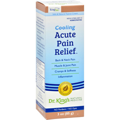 HGR1109560 - King Bio HomeopathicAcute Pain Relief Cream - 3 oz