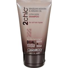 HGR1110006 - Giovanni Hair Care ProductsShampoo - 2Chic Sleek - Travel Size - Case of 12 - 1.5 oz