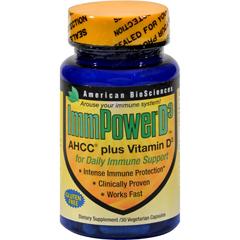 HGR1111285 - American Bio-Sciences ImmPowerD3 - 30 Vegetarian Capsules