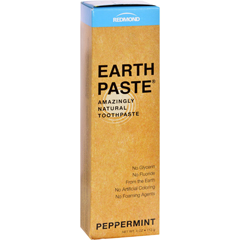HGR1112176 - Redmond Trading CompanyEarthpaste Natural Toothpaste Peppermint - 4 oz