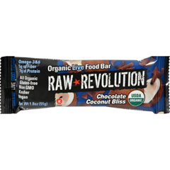 HGR1113273 - Raw RevolutionBar - Organic Coconut Bliss - Case of 12 - 1.8 oz