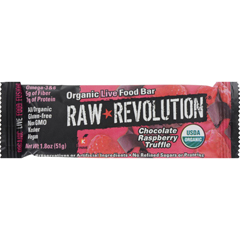 HGR1113307 - Raw RevolutionBar - Organic Raspberry Truffle - Case of 12 - 1.8 oz