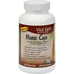 HGR1116854 - Vital Earth MineralsHumic Caps - 120 Capsules