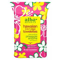 HGR1117381 - Alba BotanicaHawaiian Towelettes 3-in-1 - 30 Pack