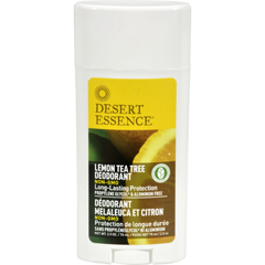 HGR1118900 - Desert Essence - Deodorant - Lemon Tea Tree - 2.5 oz