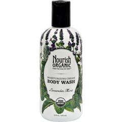HGR1120682 - NourishOrganic Body Wash - Lavender Mint - 10 oz