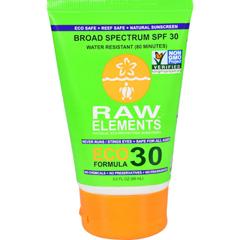 HGR1120856 - Raw ElementsEco Form Sunscreen - SPF 30 Plus - 3 oz