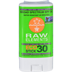 HGR1120872 - Raw ElementsEco Form Sunscreen Stick - SPF 30 Plus - .6 oz