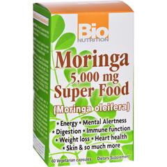 HGR1124478 - Bio NutritionMoringa 5,000 mg Super Food - 60 Vegetable Capsules