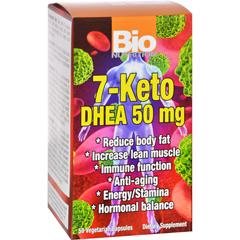HGR1124502 - Bio Nutrition - 7 Keto DHEA 50 mg - 50 Vegetarian Capsules
