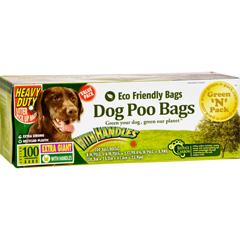 HGR1130756 - Green-n-PackDog Poo Bags Xtra Giant Ties - 100 Pack