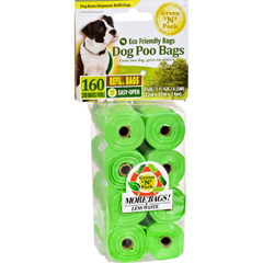 HGR1130764 - Eco-Friendly BagsDog Poo Bags Refill - 160 Pack