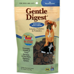 HGR1133750 - Ark NaturalsGentle Digest for Dogs and Cats - 120 Soft Chews