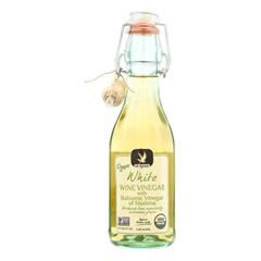 HGR1134097 - De Nigris - 100% Organic Vinegar - Balsamic White - Case of 6 - 8.5 fl oz.